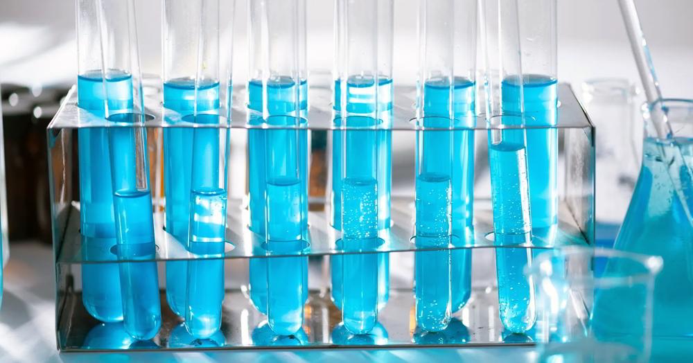Diluição de produtos químicos